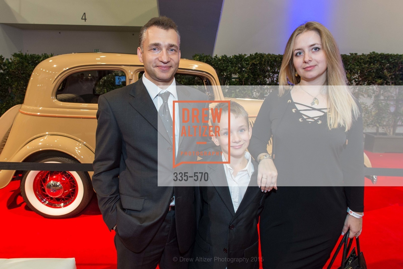 Maxim Gomcharov, Konstantin Gomcharov, Olga Barkaleva, Academy of Art University Reception at the 58th Annual SF International Auto Show, Moscone Convention Center. 747 Howard St, November 20th, 2015,Drew Altizer, Drew Altizer Photography, full-service agency, private events, San Francisco photographer, photographer california
