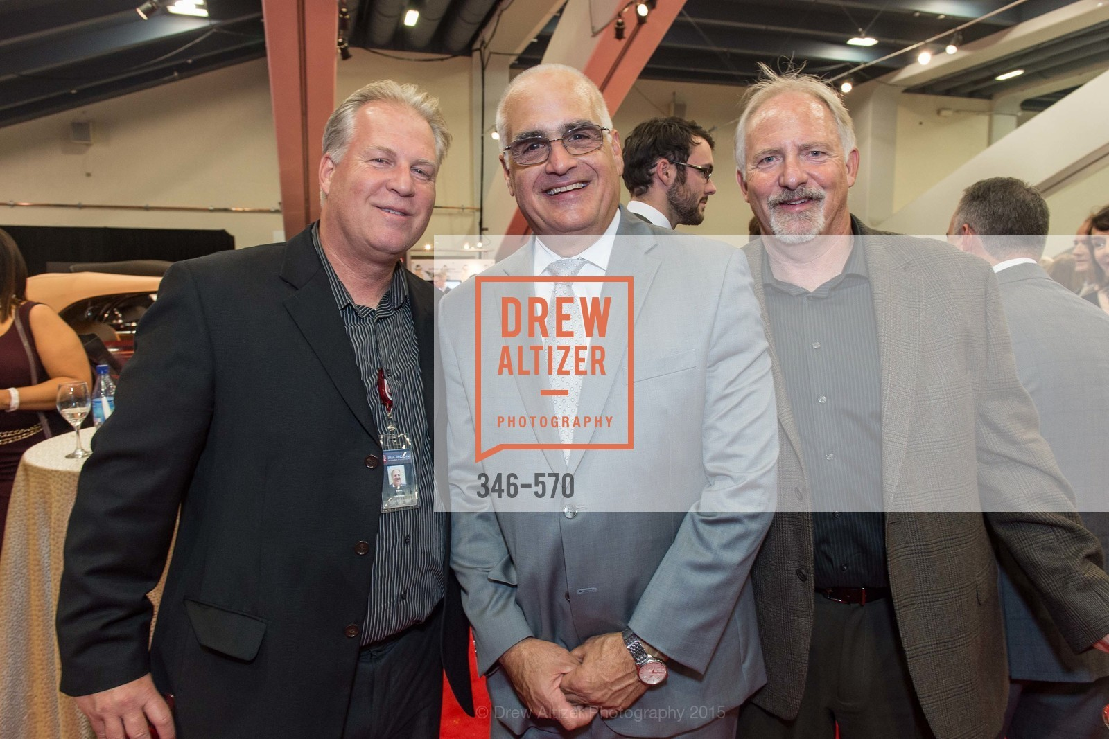Dave Chritton, Mike Petricca, Todd Chritton, Academy of Art University Reception at the 58th Annual SF International Auto Show, Moscone Convention Center. 747 Howard St, November 20th, 2015,Drew Altizer, Drew Altizer Photography, full-service agency, private events, San Francisco photographer, photographer california