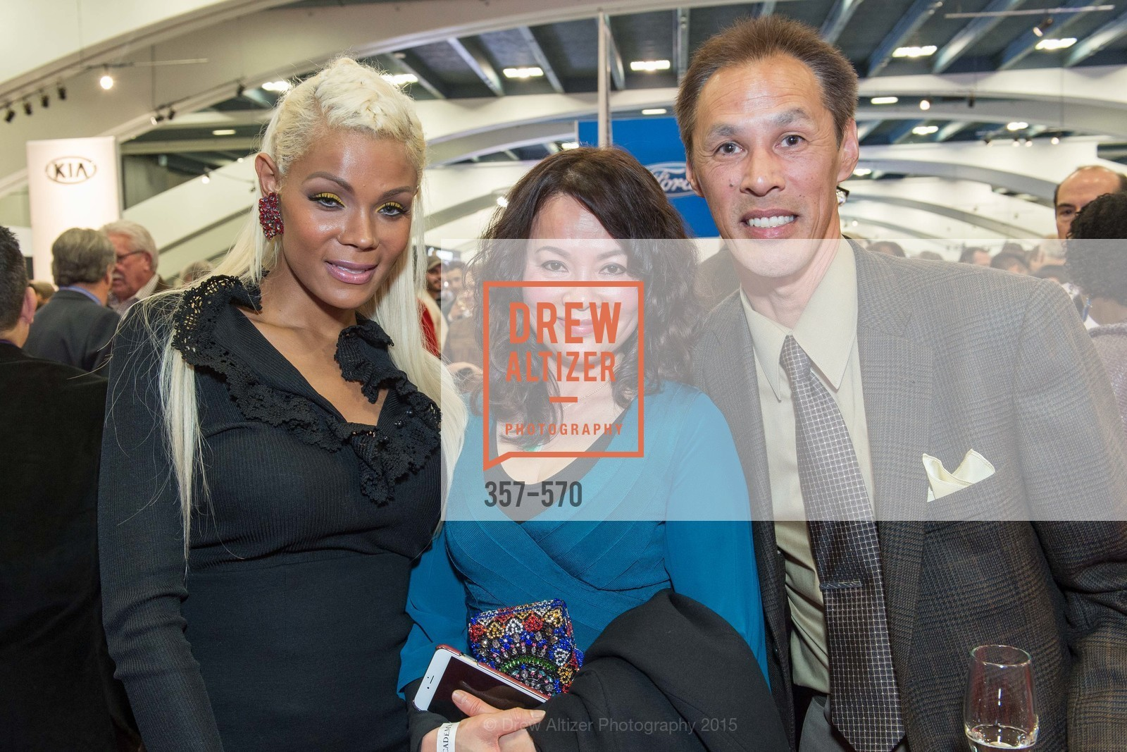 Salieh Radey, Katy Chen, Edward Fung, Academy of Art University Reception at the 58th Annual SF International Auto Show, Moscone Convention Center. 747 Howard St, November 20th, 2015,Drew Altizer, Drew Altizer Photography, full-service event agency, private events, San Francisco photographer, photographer California
