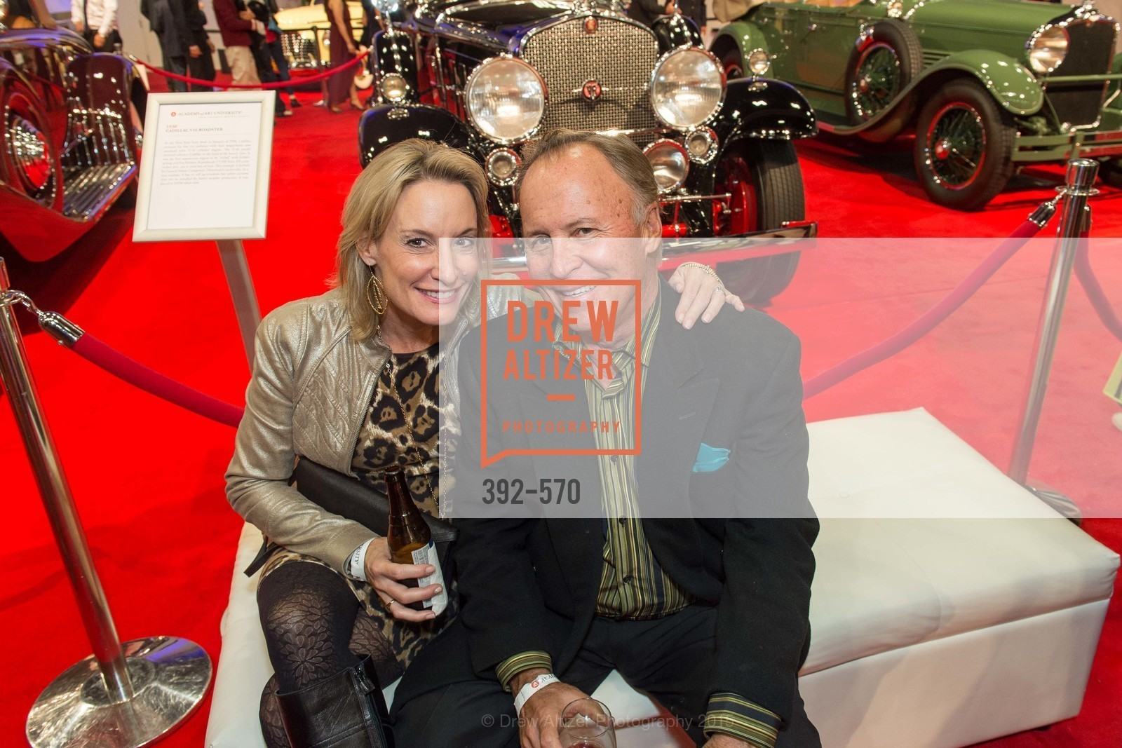 Dana Klussman, Richard Klussman, Academy of Art University Reception at the 58th Annual SF International Auto Show, Moscone Convention Center. 747 Howard St, November 20th, 2015,Drew Altizer, Drew Altizer Photography, full-service agency, private events, San Francisco photographer, photographer california
