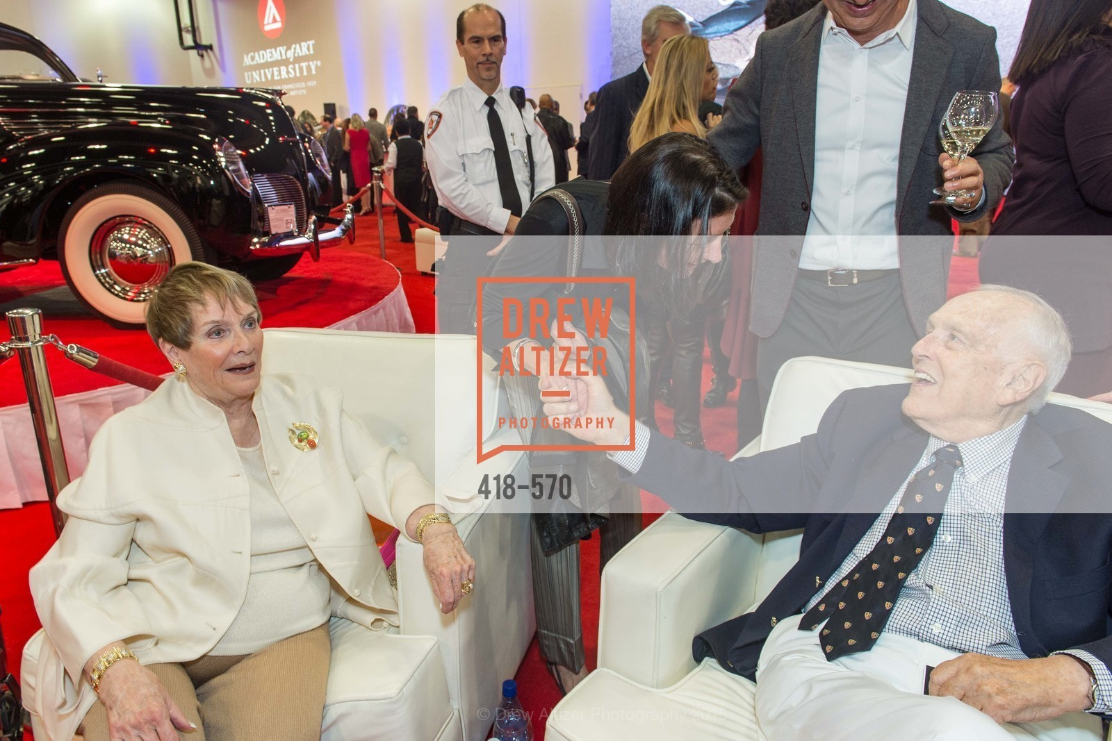 Susanne Stephens, Richard Stephens, Academy of Art University Reception at the 58th Annual SF International Auto Show, Moscone Convention Center. 747 Howard St, November 20th, 2015,Drew Altizer, Drew Altizer Photography, full-service agency, private events, San Francisco photographer, photographer california