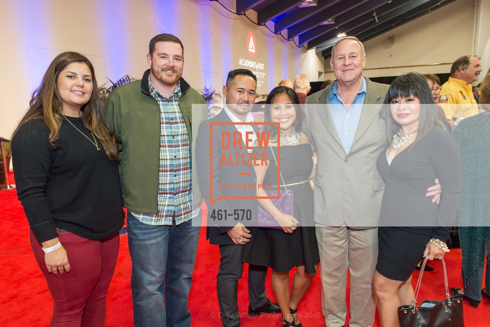 KIm Braga, Forrest Podva, Dia Ates, Rebecca Delgado, Academy of Art University Reception at the 58th Annual SF International Auto Show, Moscone Convention Center. 747 Howard St, November 20th, 2015,Drew Altizer, Drew Altizer Photography, full-service agency, private events, San Francisco photographer, photographer california