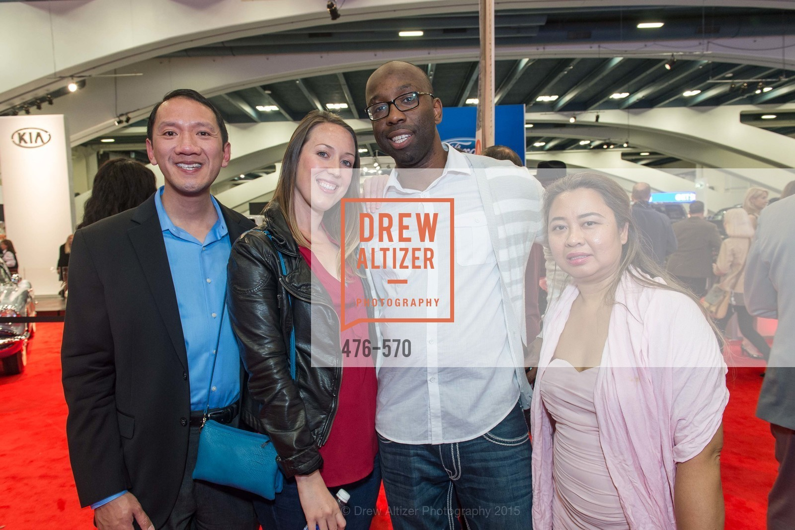 David Lee, Sarah Ballard-Hanson, Ola Sanusi, Catharina Lee, Academy of Art University Reception at the 58th Annual SF International Auto Show, Moscone Convention Center. 747 Howard St, November 20th, 2015,Drew Altizer, Drew Altizer Photography, full-service agency, private events, San Francisco photographer, photographer california