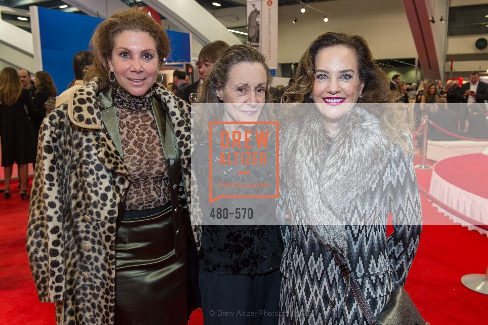 Debra Leylegian, Doris Tumay, Robyn Collins, Academy of Art University Reception at the 58th Annual SF International Auto Show, Moscone Convention Center. 747 Howard St, November 20th, 2015,Drew Altizer, Drew Altizer Photography, full-service agency, private events, San Francisco photographer, photographer california