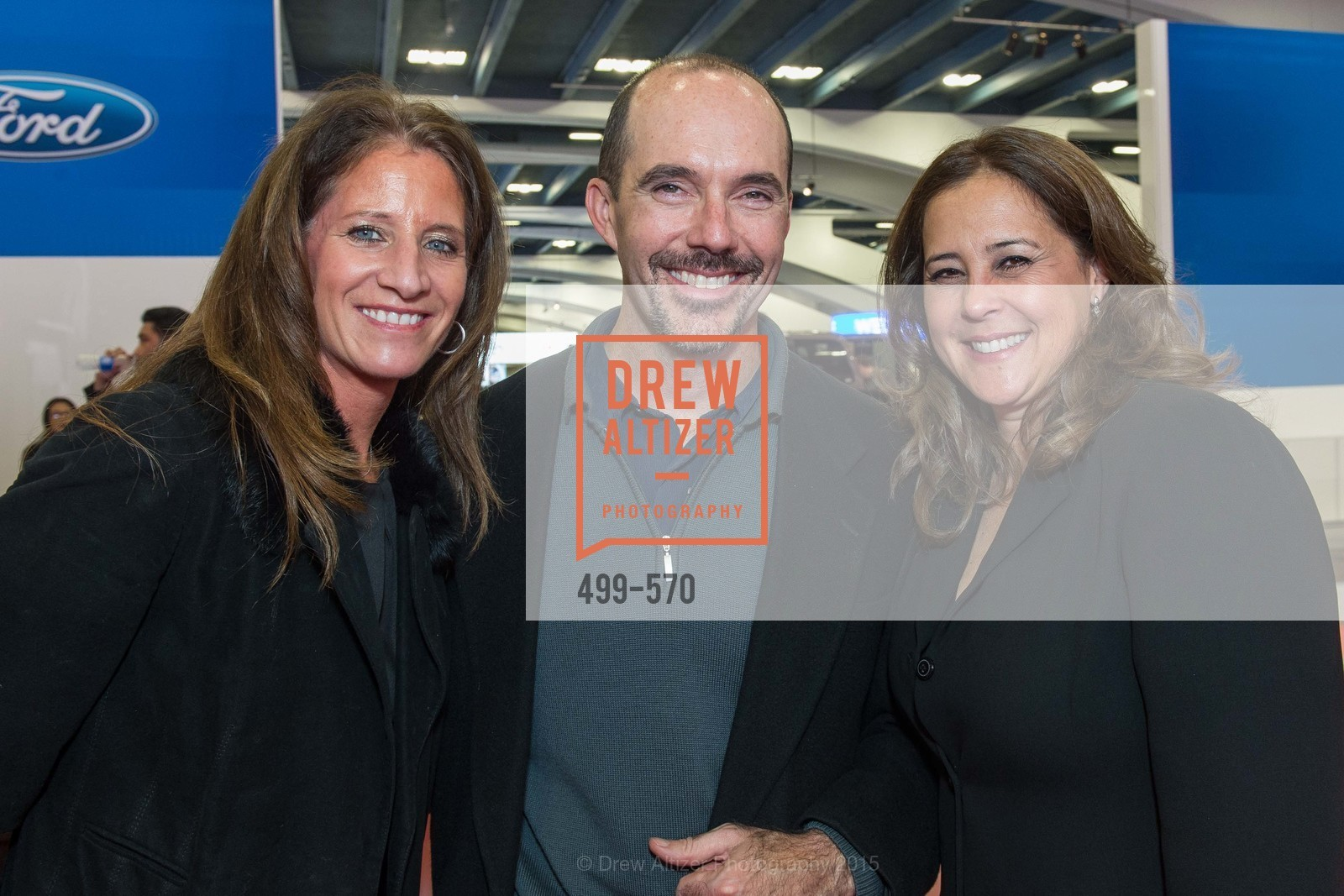 Catherine Hoolihan, Brendon Dunoggan, Suzanne Dunoggan, Academy of Art University Reception at the 58th Annual SF International Auto Show, Moscone Convention Center. 747 Howard St, November 20th, 2015,Drew Altizer, Drew Altizer Photography, full-service agency, private events, San Francisco photographer, photographer california