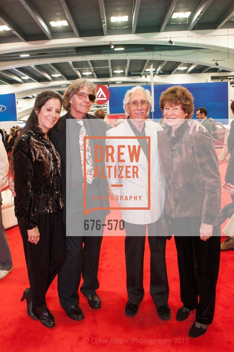 Wendy Sharp, Ken Sharp, Jack Lutzow, Louise Lutzow, Academy of Art University Reception at the 58th Annual SF International Auto Show, Moscone Convention Center. 747 Howard St, November 20th, 2015,Drew Altizer, Drew Altizer Photography, full-service agency, private events, San Francisco photographer, photographer california