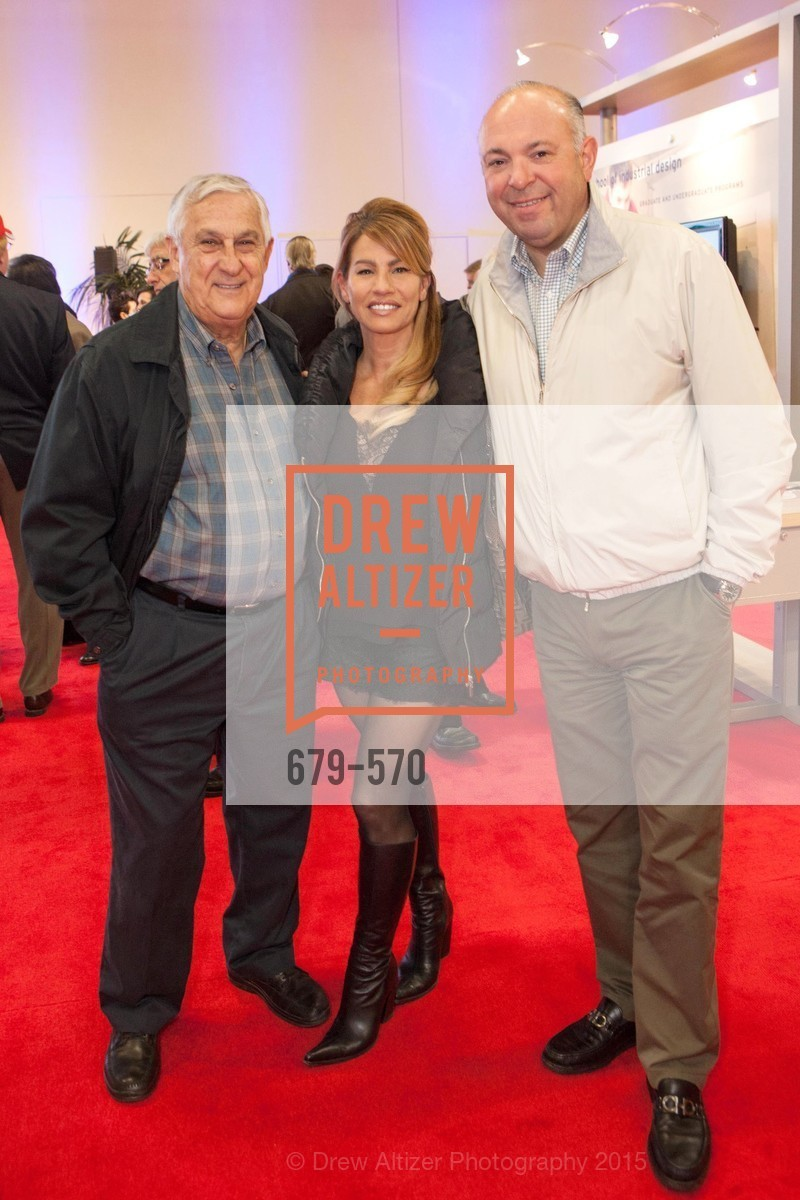 Sal Zammitti, Anthy Donati, Mario Donati, Academy of Art University Reception at the 58th Annual SF International Auto Show, Moscone Convention Center. 747 Howard St, November 20th, 2015,Drew Altizer, Drew Altizer Photography, full-service agency, private events, San Francisco photographer, photographer california