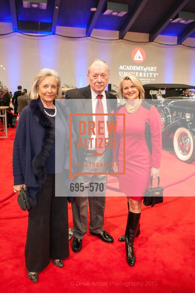 Patsy Pope, Harold Gutknecht, Adrianna Pope Sullivan, Academy of Art University Reception at the 58th Annual SF International Auto Show, Moscone Convention Center. 747 Howard St, November 20th, 2015,Drew Altizer, Drew Altizer Photography, full-service agency, private events, San Francisco photographer, photographer california