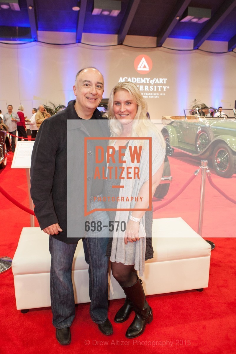 Anthony Lizano, Cynthia Lizano, Academy of Art University Reception at the 58th Annual SF International Auto Show, Moscone Convention Center. 747 Howard St, November 20th, 2015,Drew Altizer, Drew Altizer Photography, full-service agency, private events, San Francisco photographer, photographer california