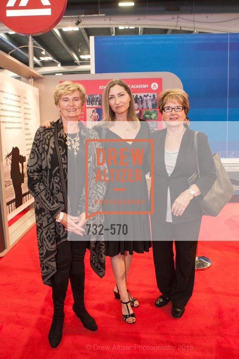 Glenda Sears, Lorraine Hveem, Lorraine Kilkenny, Academy of Art University Reception at the 58th Annual SF International Auto Show, Moscone Convention Center. 747 Howard St, November 20th, 2015,Drew Altizer, Drew Altizer Photography, full-service agency, private events, San Francisco photographer, photographer california