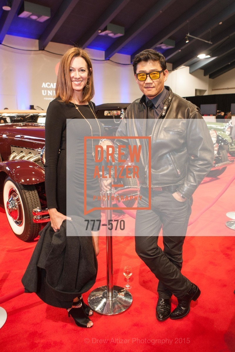 Melanie Clampit, Philippe Lee, Academy of Art University Reception at the 58th Annual SF International Auto Show, Moscone Convention Center. 747 Howard St, November 20th, 2015,Drew Altizer, Drew Altizer Photography, full-service agency, private events, San Francisco photographer, photographer california
