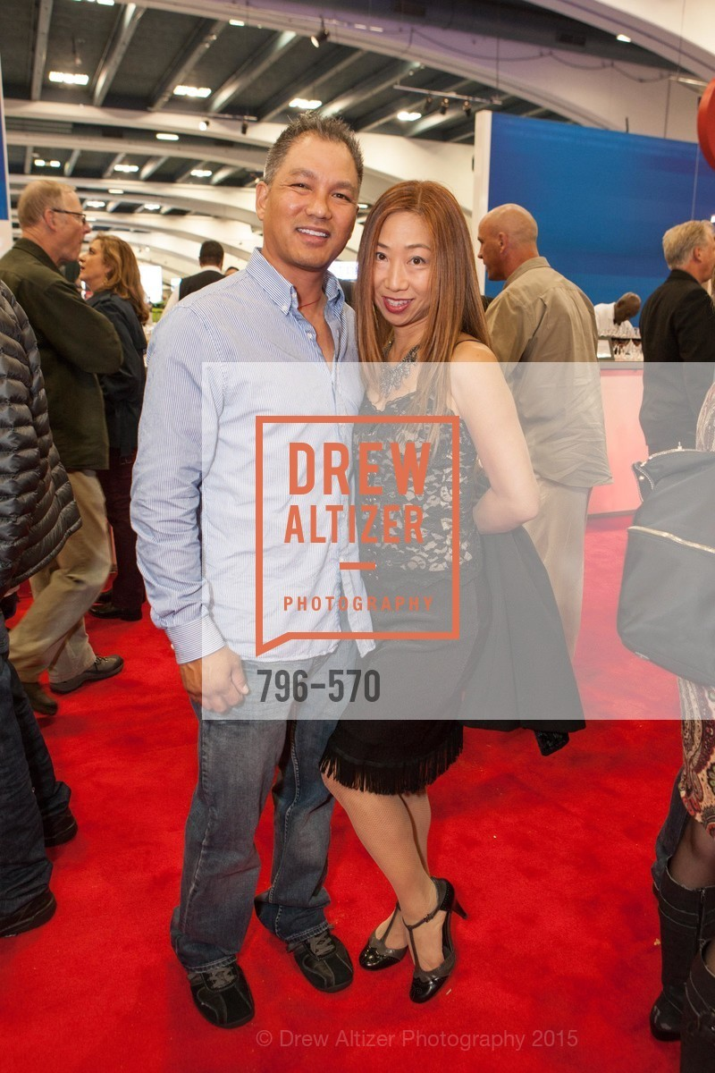 Fiona Chan, Jake Crisologo, Academy of Art University Reception at the 58th Annual SF International Auto Show, Moscone Convention Center. 747 Howard St, November 20th, 2015