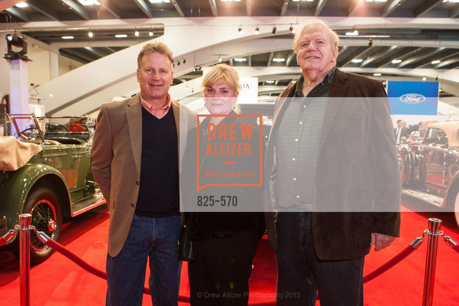 Tom Niedernhofer, Shelley Niedernhofer, Ron Kimball, Academy of Art University Reception at the 58th Annual SF International Auto Show, Moscone Convention Center. 747 Howard St, November 20th, 2015,Drew Altizer, Drew Altizer Photography, full-service agency, private events, San Francisco photographer, photographer california