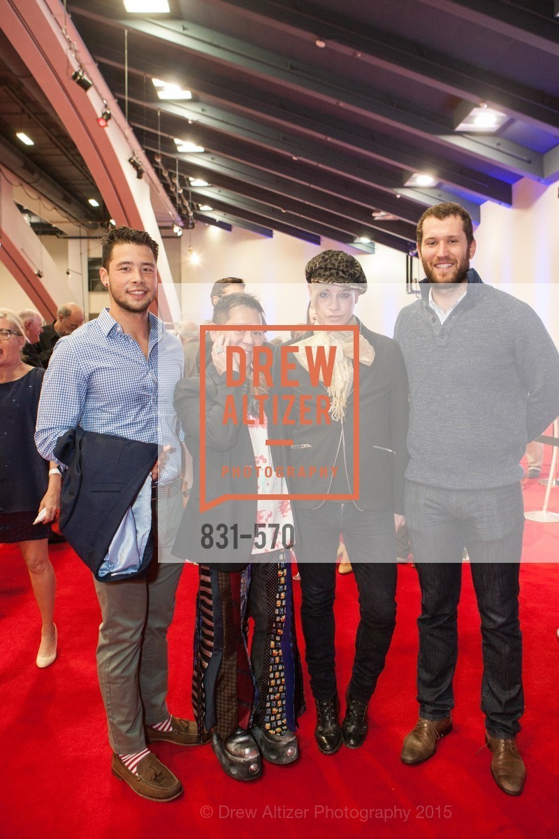 Mike Eidlin, Baby Chic, Richie Rich, Emere Titizer, Academy of Art University Reception at the 58th Annual SF International Auto Show, Moscone Convention Center. 747 Howard St, November 20th, 2015,Drew Altizer, Drew Altizer Photography, full-service agency, private events, San Francisco photographer, photographer california