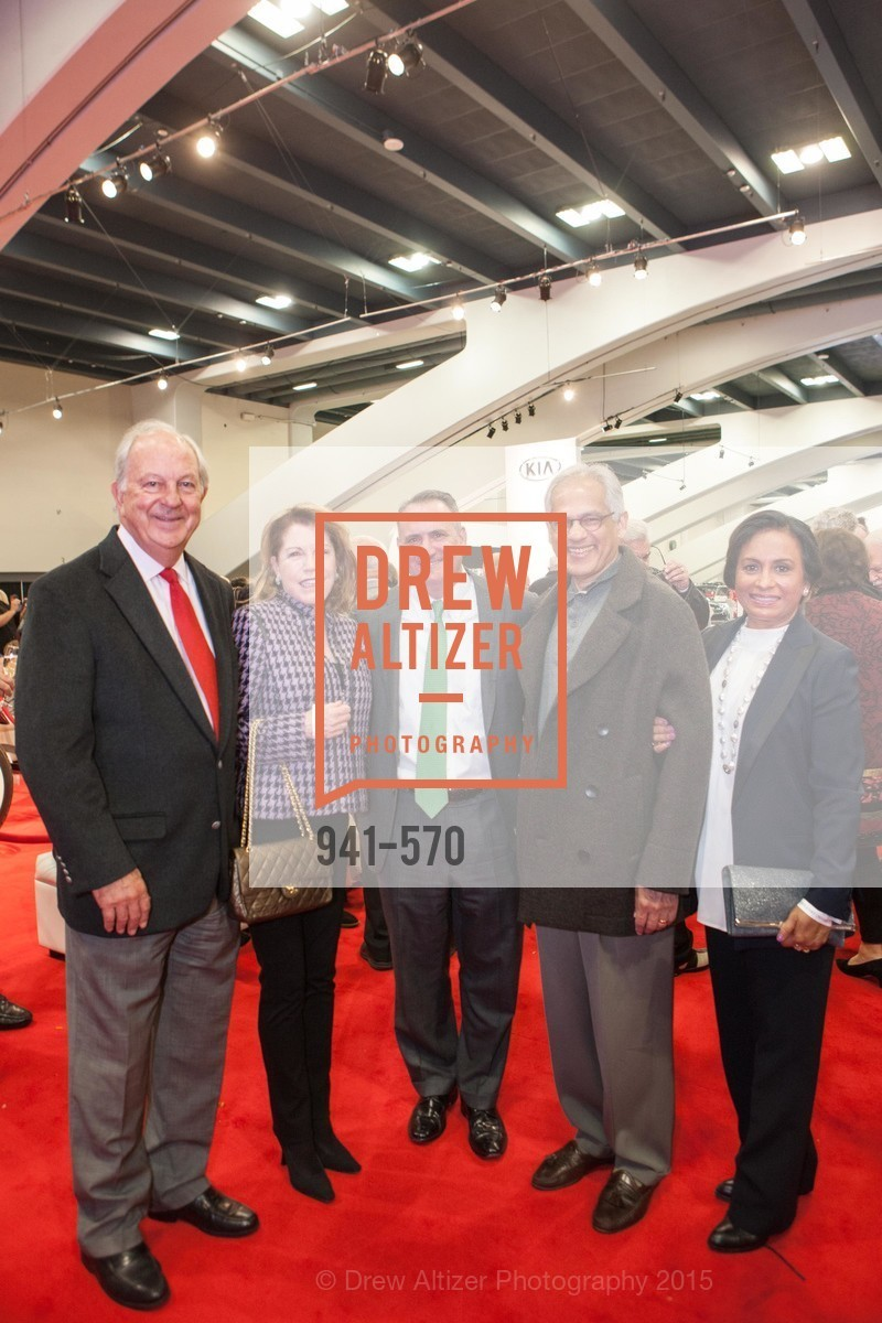Steve Cox, Vel Cox, Ed Conlon, Hamphi Thomas, Deepa Thomas, Academy of Art University Reception at the 58th Annual SF International Auto Show, Moscone Convention Center. 747 Howard St, November 20th, 2015,Drew Altizer, Drew Altizer Photography, full-service agency, private events, San Francisco photographer, photographer california
