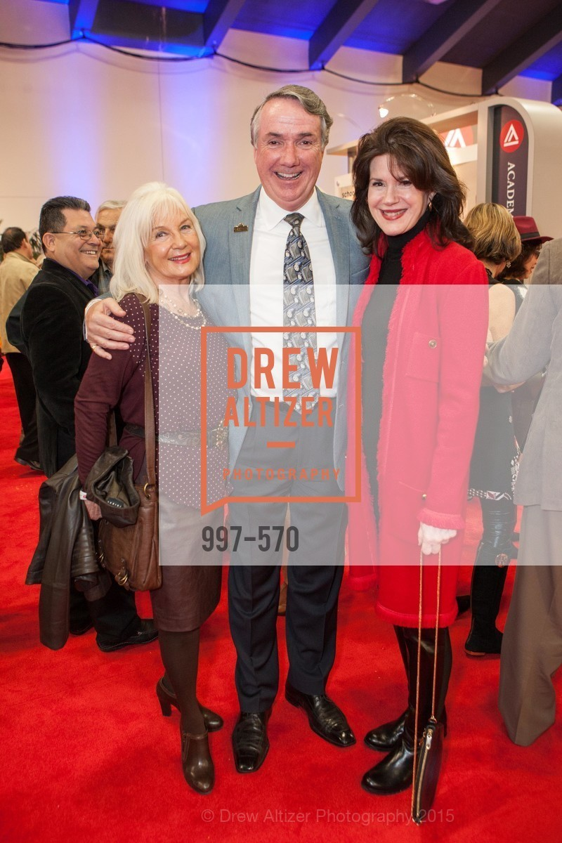 Arlene Inch, Jim Mcgrane, Elaine Mellis, Academy of Art University Reception at the 58th Annual SF International Auto Show, Moscone Convention Center. 747 Howard St, November 20th, 2015,Drew Altizer, Drew Altizer Photography, full-service agency, private events, San Francisco photographer, photographer california