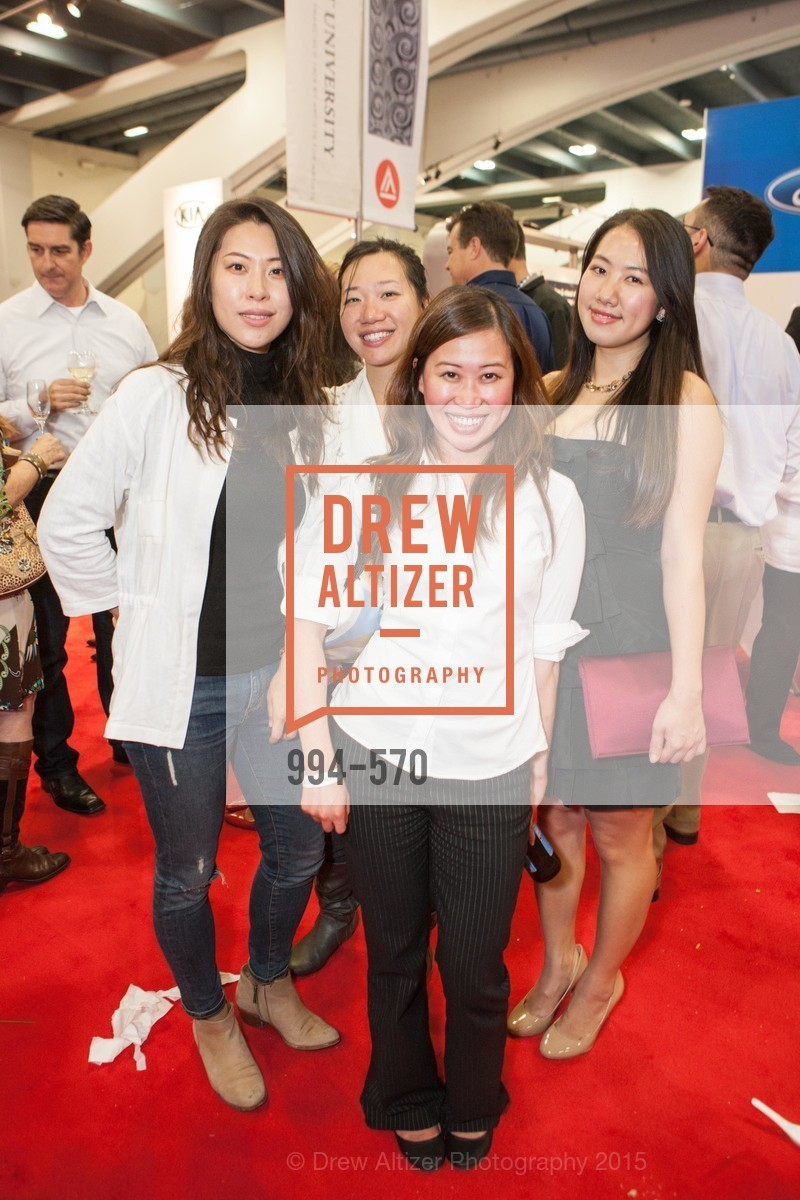 My Vuong, Erin Park, Angela Lee, Cathy Yin, Academy of Art University Reception at the 58th Annual SF International Auto Show, Moscone Convention Center. 747 Howard St, November 20th, 2015,Drew Altizer, Drew Altizer Photography, full-service agency, private events, San Francisco photographer, photographer california