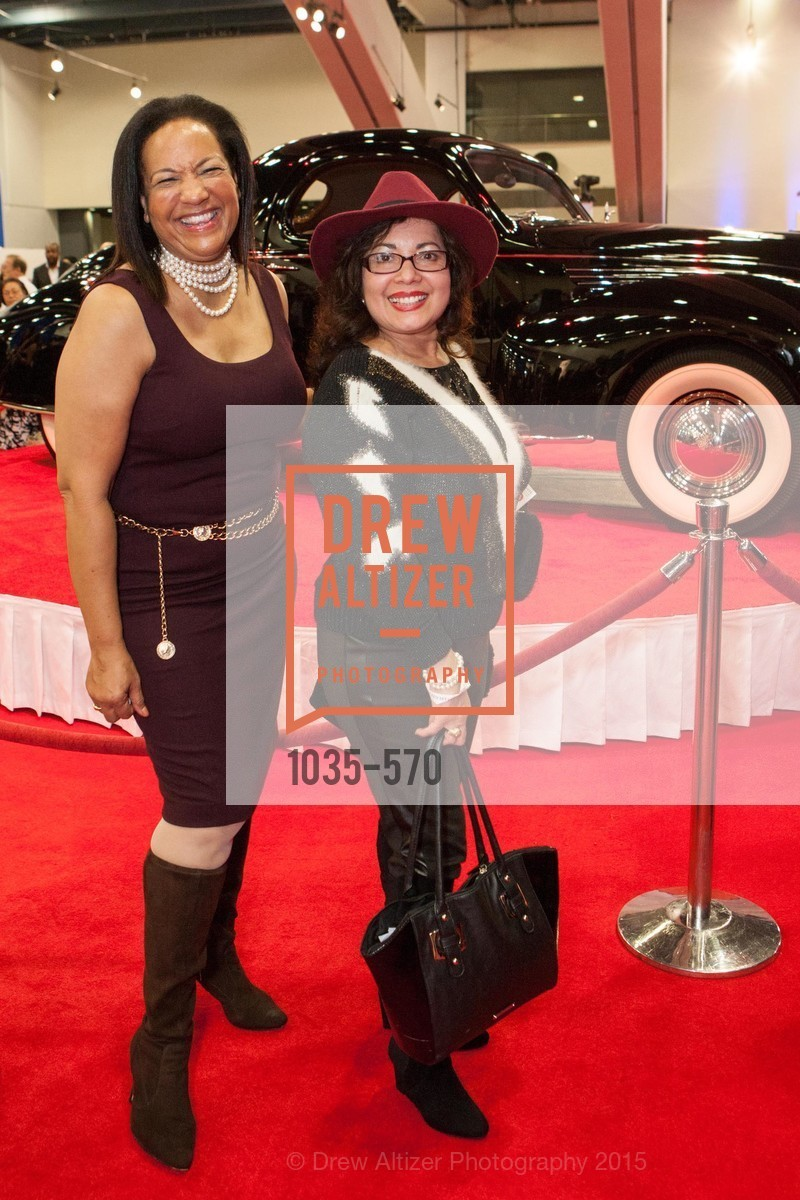 Karen Clopton, Maria-Lydia Nunez, Academy of Art University Reception at the 58th Annual SF International Auto Show, Moscone Convention Center. 747 Howard St, November 20th, 2015,Drew Altizer, Drew Altizer Photography, full-service agency, private events, San Francisco photographer, photographer california
