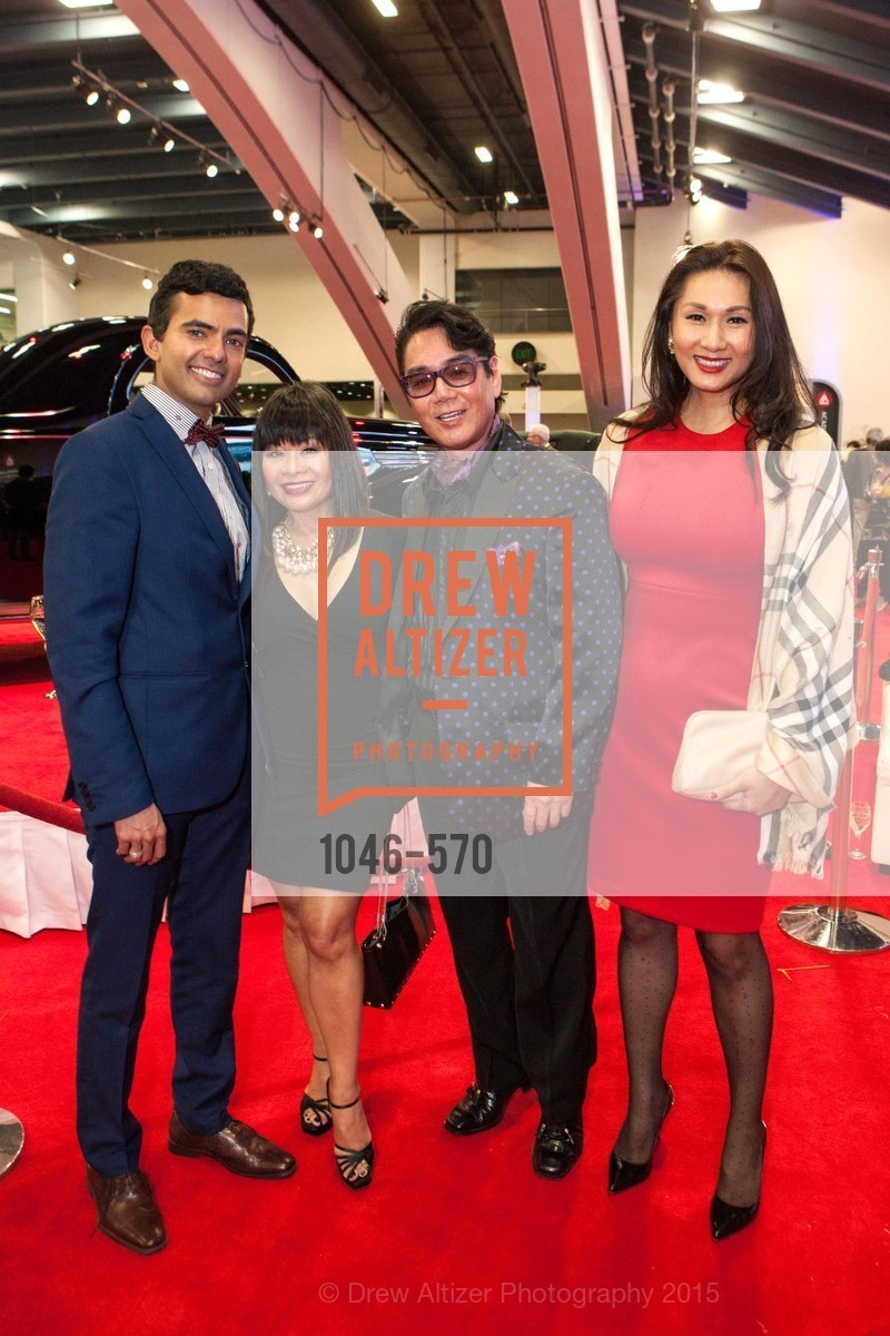 Ken Russell Coelho, Rebecca Delgado, Lawrence Wong, Academy of Art University Reception at the 58th Annual SF International Auto Show, Moscone Convention Center. 747 Howard St, November 20th, 2015,Drew Altizer, Drew Altizer Photography, full-service agency, private events, San Francisco photographer, photographer california