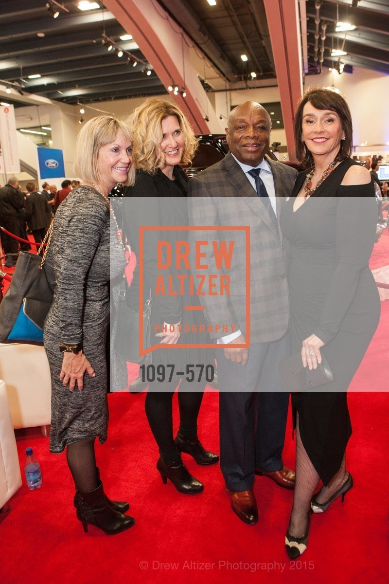 Renee Huber, Willie Brown, Elisa Stephens, Academy of Art University Reception at the 58th Annual SF International Auto Show, Moscone Convention Center. 747 Howard St, November 20th, 2015,Drew Altizer, Drew Altizer Photography, full-service agency, private events, San Francisco photographer, photographer california