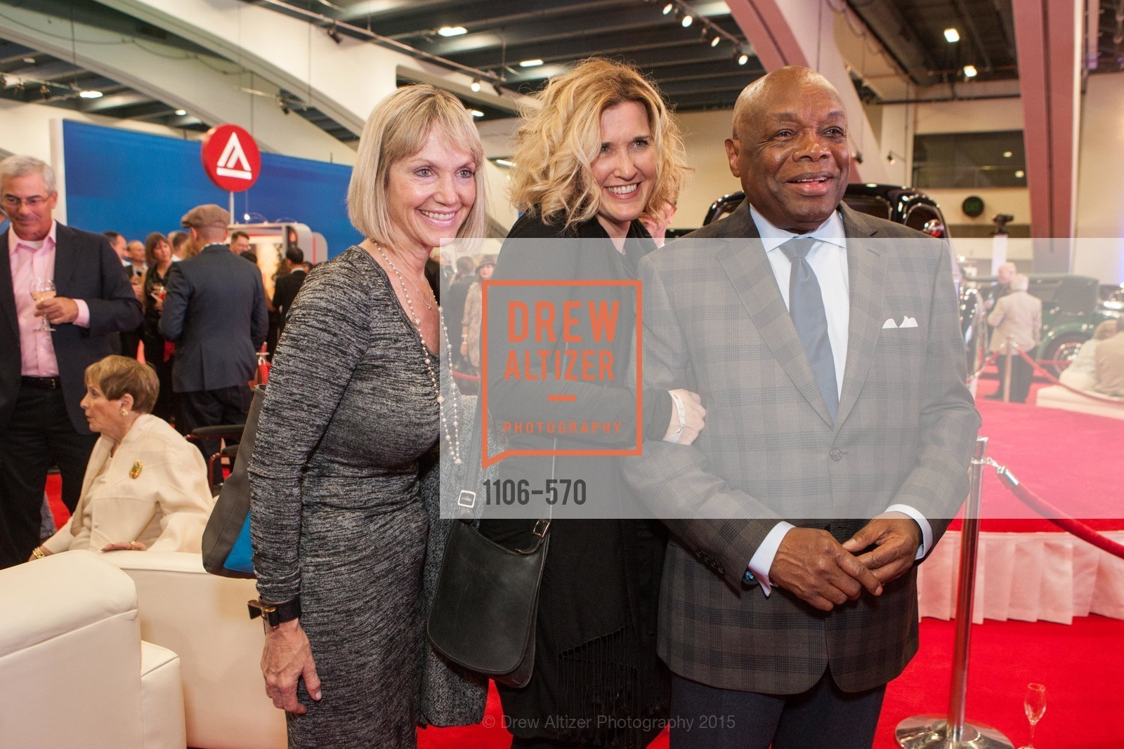 Christina Isetta, Willie Brown, Academy of Art University Reception at the 58th Annual SF International Auto Show, Moscone Convention Center. 747 Howard St, November 20th, 2015,Drew Altizer, Drew Altizer Photography, full-service agency, private events, San Francisco photographer, photographer california