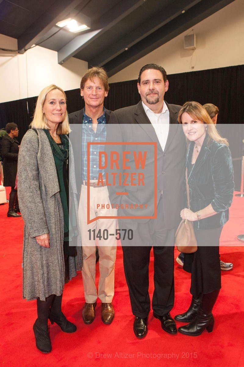 Claudia Bushee, Ward Bushee, Jean Blot, Jennifer Blot, Academy of Art University Reception at the 58th Annual SF International Auto Show, Moscone Convention Center. 747 Howard St, November 20th, 2015,Drew Altizer, Drew Altizer Photography, full-service agency, private events, San Francisco photographer, photographer california