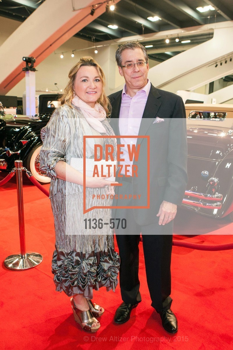 Irene Waldman, Brian Costello, Academy of Art University Reception at the 58th Annual SF International Auto Show, Moscone Convention Center. 747 Howard St, November 20th, 2015,Drew Altizer, Drew Altizer Photography, full-service agency, private events, San Francisco photographer, photographer california