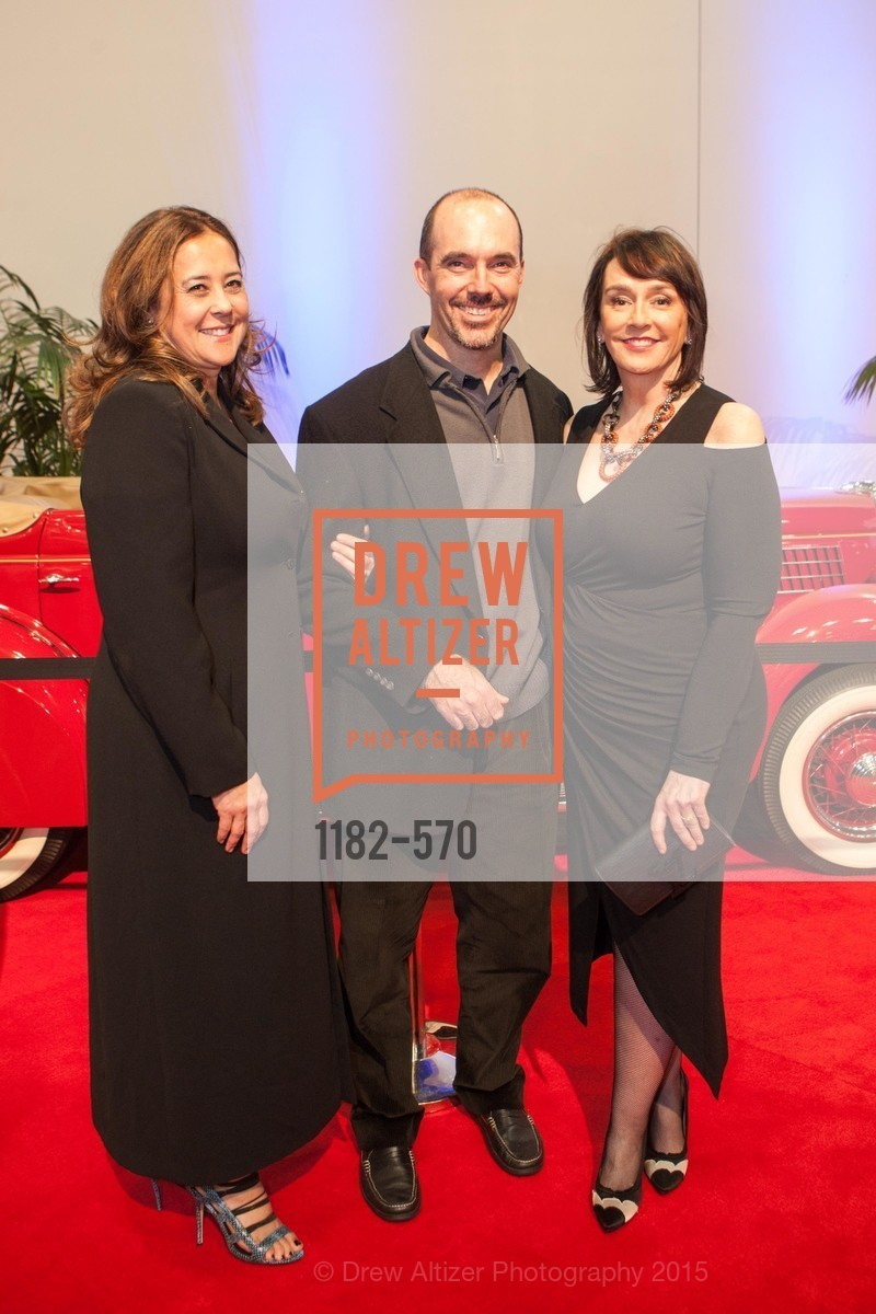 Susanne Dunnigan, Brendon Dunnigan, Elisa Stephens, Academy of Art University Reception at the 58th Annual SF International Auto Show, Moscone Convention Center. 747 Howard St, November 20th, 2015,Drew Altizer, Drew Altizer Photography, full-service event agency, private events, San Francisco photographer, photographer California