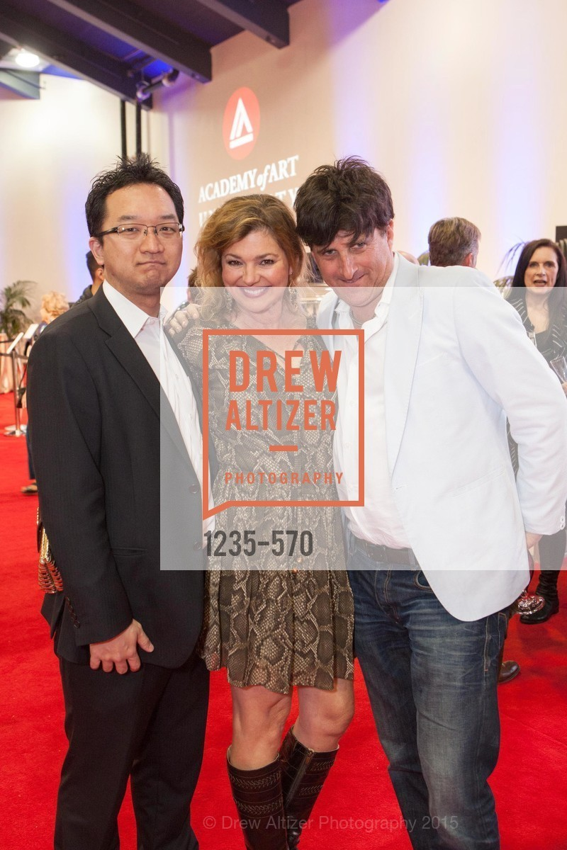 Charles Sugimoto, Liz Hill, Mark Levinson, Academy of Art University Reception at the 58th Annual SF International Auto Show, Moscone Convention Center. 747 Howard St, November 20th, 2015,Drew Altizer, Drew Altizer Photography, full-service agency, private events, San Francisco photographer, photographer california