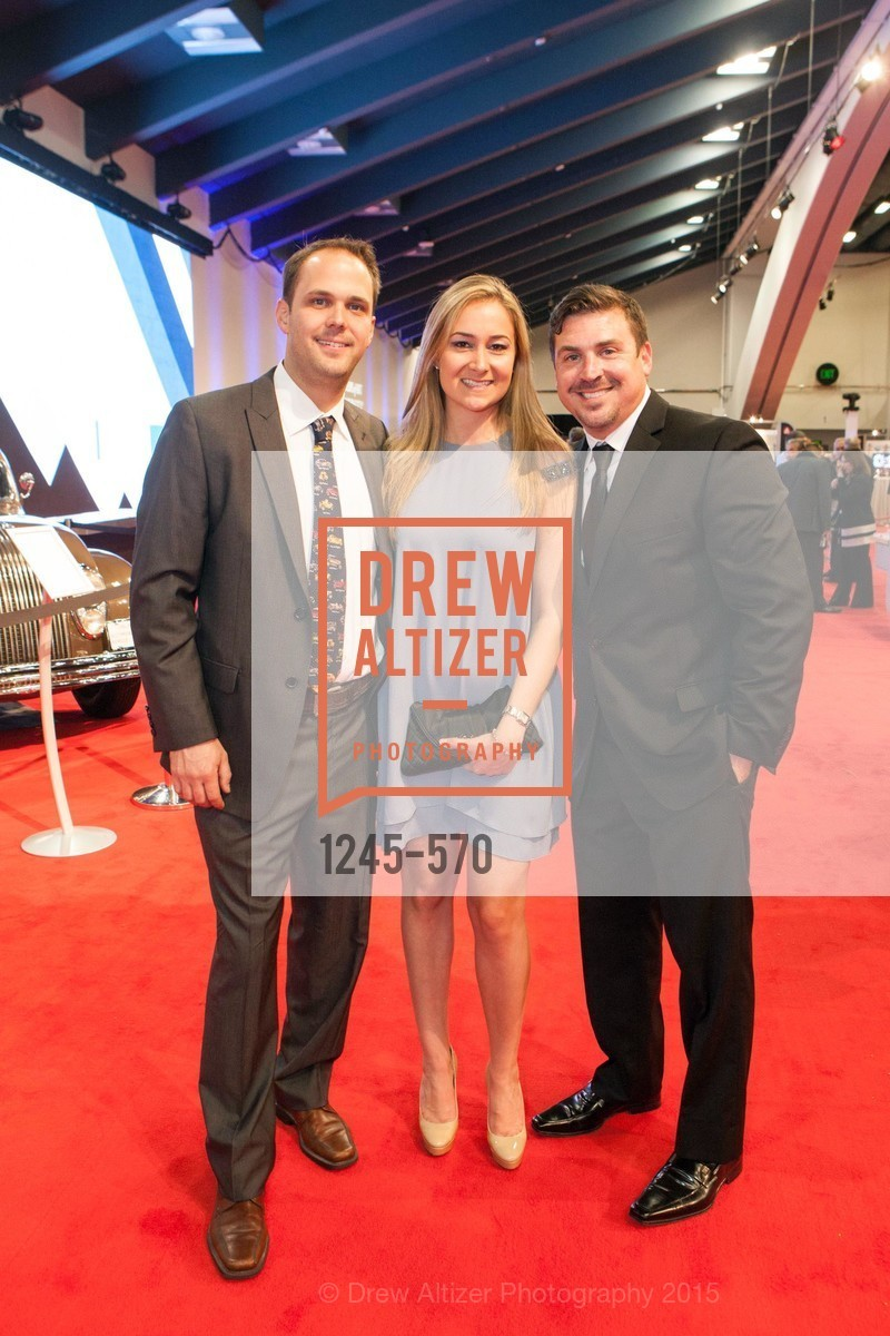 Matt Pumphrey, Deylan Pumphrey, Stephen Head, Academy of Art University Reception at the 58th Annual SF International Auto Show, Moscone Convention Center. 747 Howard St, November 20th, 2015,Drew Altizer, Drew Altizer Photography, full-service agency, private events, San Francisco photographer, photographer california