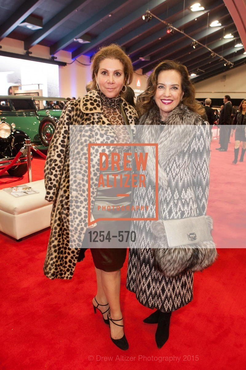 Debra Leylegian, Robin Collins, Academy of Art University Reception at the 58th Annual SF International Auto Show, Moscone Convention Center. 747 Howard St, November 20th, 2015