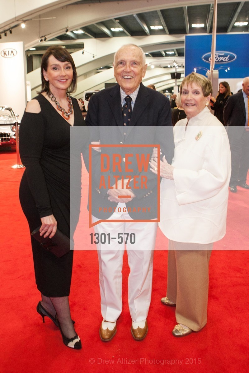 Elisa Stephens, Richard Stephens, Susanne Stephens, Academy of Art University Reception at the 58th Annual SF International Auto Show, Moscone Convention Center. 747 Howard St, November 20th, 2015,Drew Altizer, Drew Altizer Photography, full-service agency, private events, San Francisco photographer, photographer california