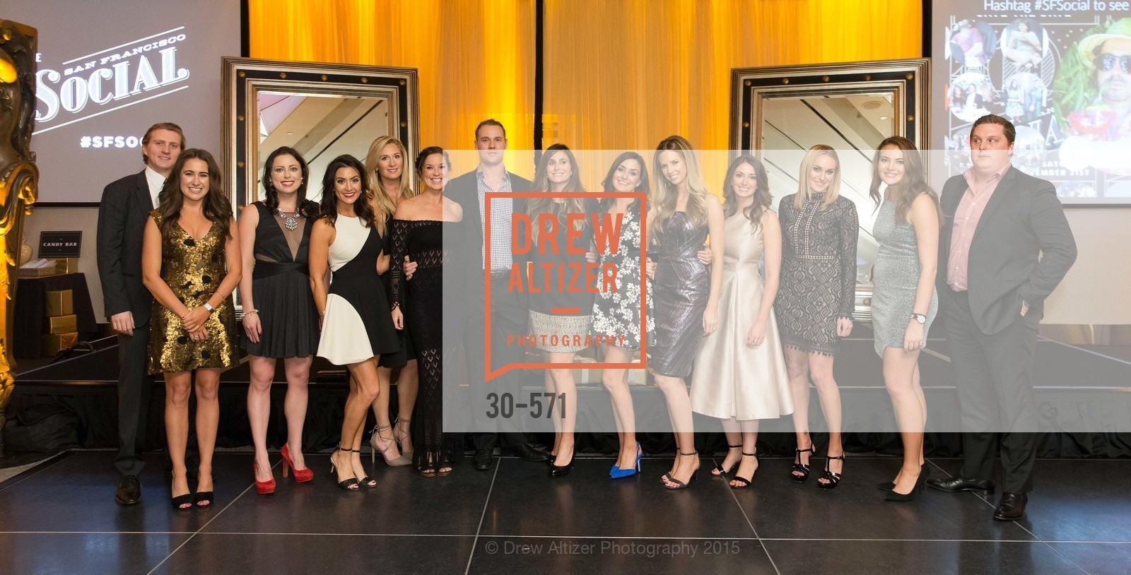 Ben Anderson, Morgan Moore, Amanda Coffee, Danielle Leeke, Alissa Yee, Hannah Schmunk, Anderson Pugash, Kelly Boynton, Kaitlyn Landers, Madison Ginnett, Meredith May, Allie Zimnoch, Jack Herr, The 10th Annual San Francisco Social, W Hotel. 181 3rd St, November 21st, 2015,Drew Altizer, Drew Altizer Photography, full-service agency, private events, San Francisco photographer, photographer california