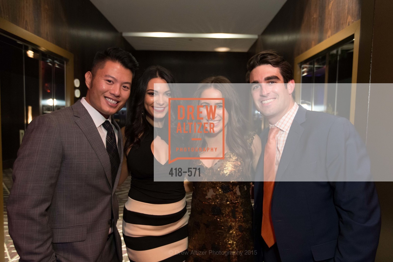 Richard Chua, Ashley Hamik, Morgan Moore, Bart Moore, The 10th Annual San Francisco Social, W Hotel. 181 3rd St, November 21st, 2015,Drew Altizer, Drew Altizer Photography, full-service event agency, private events, San Francisco photographer, photographer California