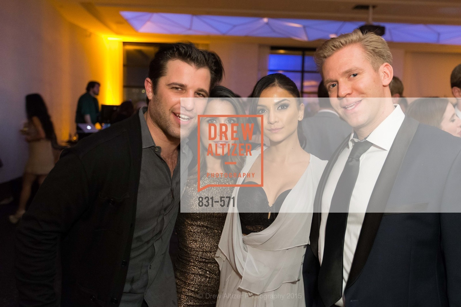 Michael Reyes, Mari Saleh, Tara Dolonazar, Tristan Pikes, The 10th Annual San Francisco Social, W Hotel. 181 3rd St, November 21st, 2015,Drew Altizer, Drew Altizer Photography, full-service event agency, private events, San Francisco photographer, photographer California