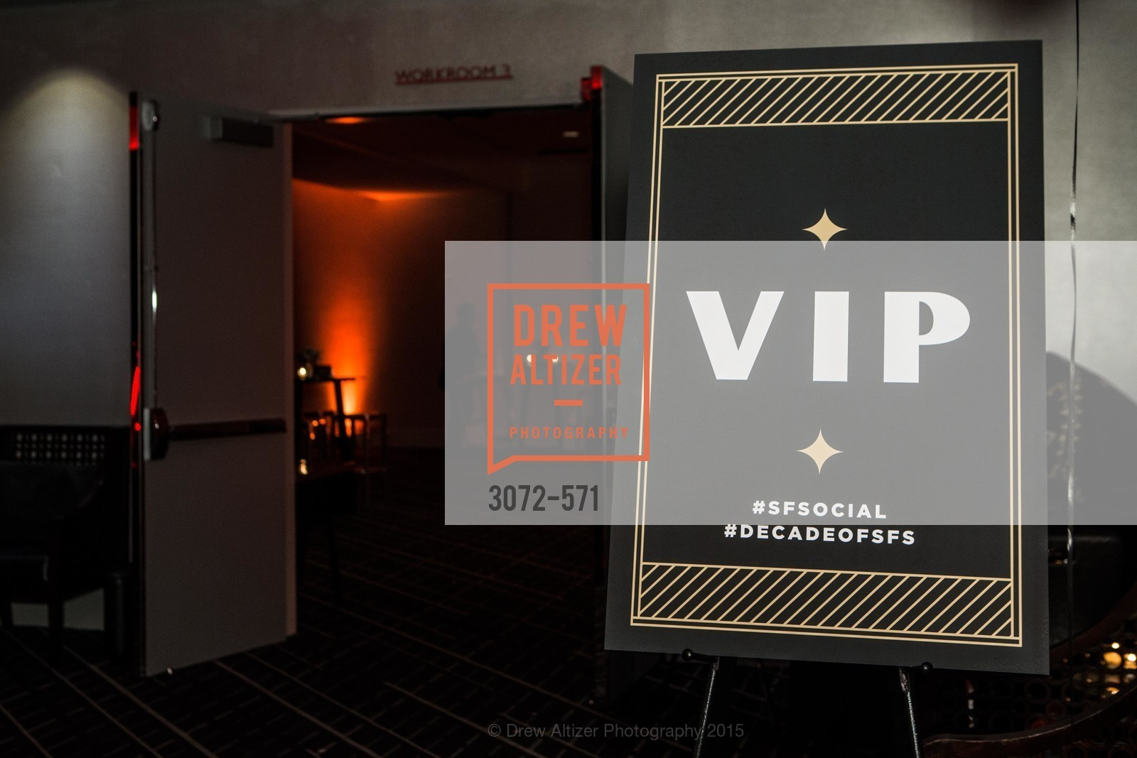 Atmosphere, The 10th Annual San Francisco Social, W Hotel. 181 3rd St, November 21st, 2015
