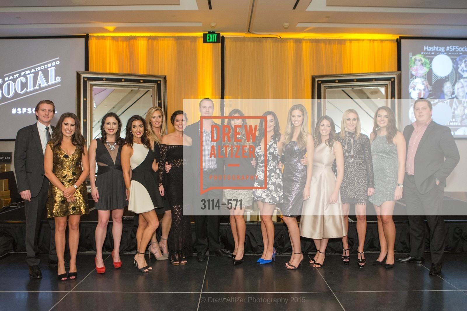Ben Anderson, Morgan Moore, Amanda Coffee, Danielle Leeke, Alissa Yee, Hannah Schmunk, Anderson Pugash, Kelly Boynton, Kaitlyn Landers, Erin Victor, Madison Ginnett, Meredith May, Allie Zimnoch, Jack Herr, The 10th Annual San Francisco Social, W Hotel. 181 3rd St, November 21st, 2015,Drew Altizer, Drew Altizer Photography, full-service agency, private events, San Francisco photographer, photographer california