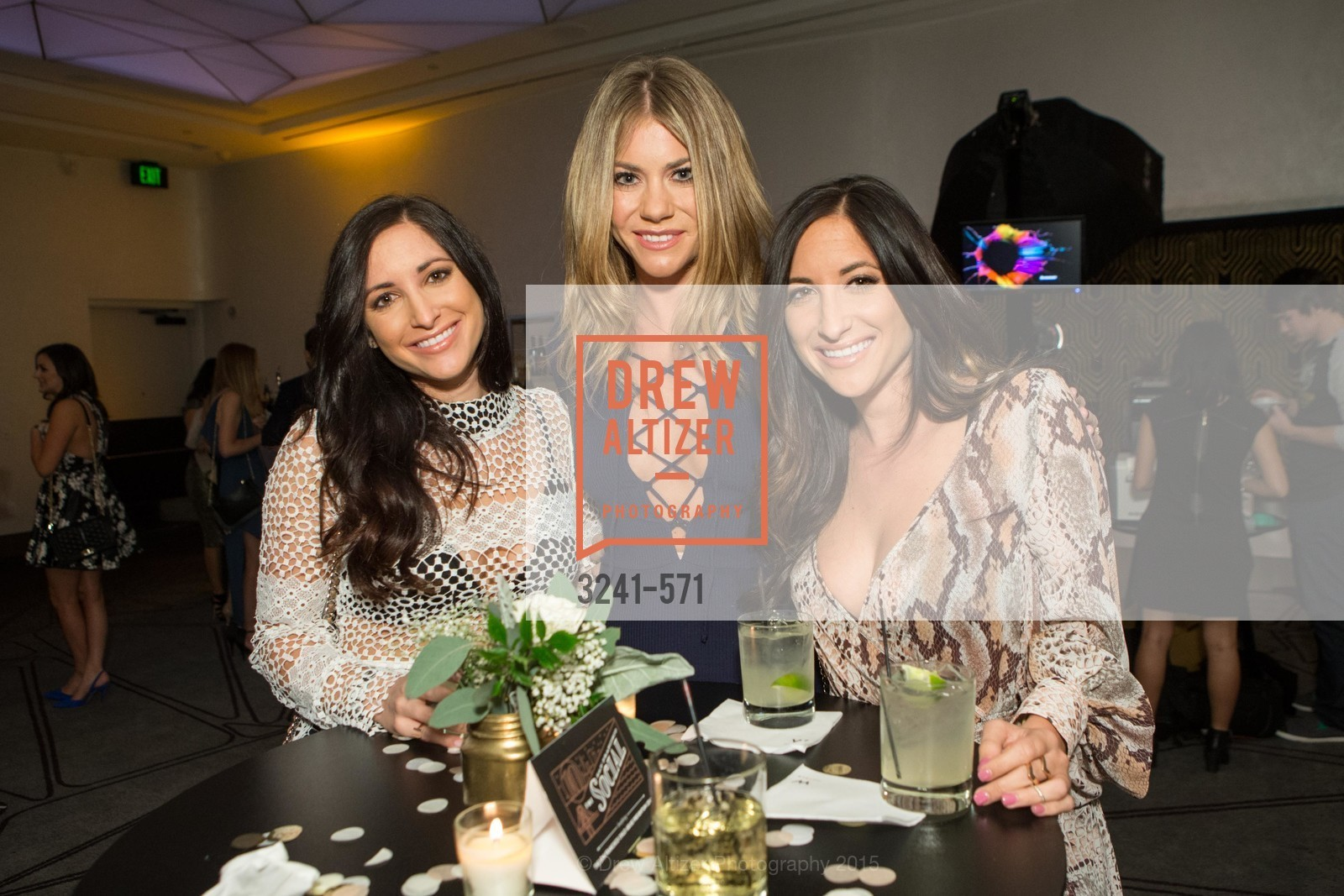 Mandy Labun, Katie McDowell, Molly Labun, The 10th Annual San Francisco Social, W Hotel. 181 3rd St, November 21st, 2015,Drew Altizer, Drew Altizer Photography, full-service agency, private events, San Francisco photographer, photographer california