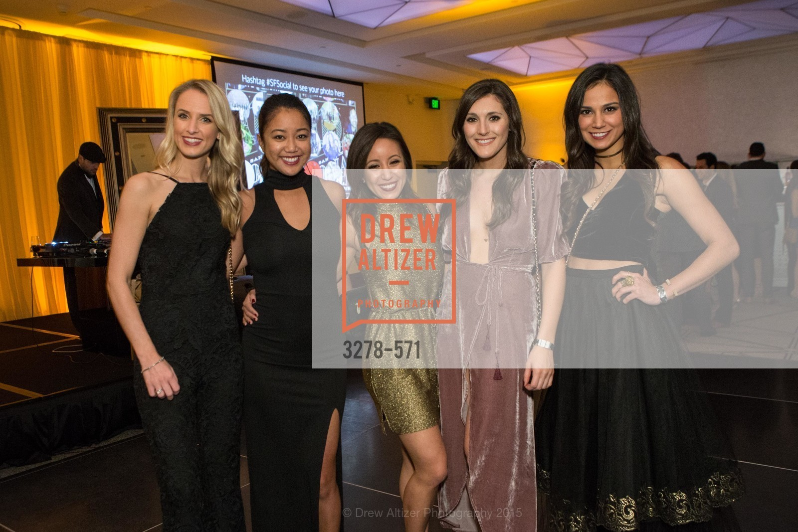 Kristin Falk, Sharina Tiamdon, Katie Hume, Aly Wente, Ari Parite, The 10th Annual San Francisco Social, W Hotel. 181 3rd St, November 21st, 2015,Drew Altizer, Drew Altizer Photography, full-service agency, private events, San Francisco photographer, photographer california