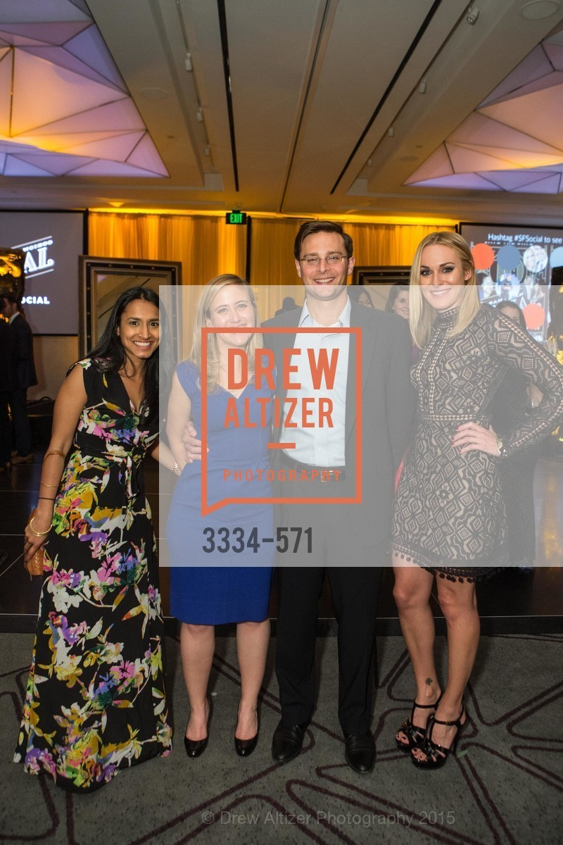 Neha, Trisha Mohan, Louis Krasenics, Sara Schneider, The 10th Annual San Francisco Social, W Hotel. 181 3rd St, November 21st, 2015,Drew Altizer, Drew Altizer Photography, full-service agency, private events, San Francisco photographer, photographer california