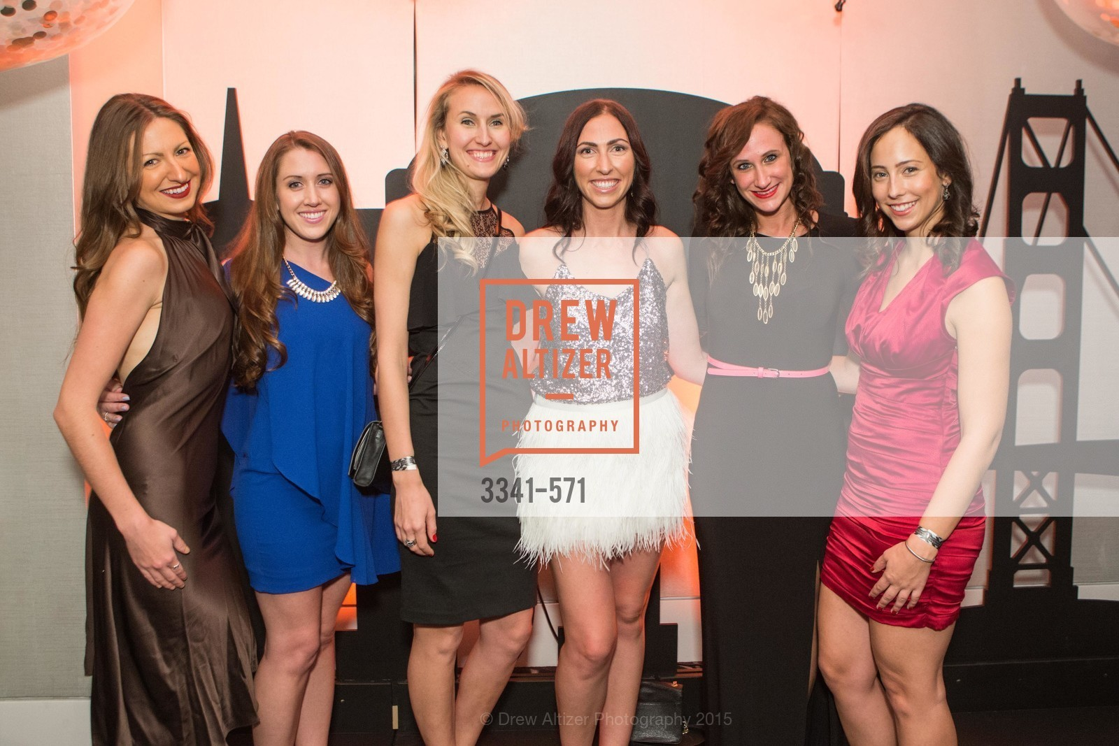 Melanie Dudyj, Rachel Thompson, Sofia Chesnokova, Kathleen Nolan, Janelle Mertens, Leigh Ann Benicewicz, The 10th Annual San Francisco Social, W Hotel. 181 3rd St, November 21st, 2015,Drew Altizer, Drew Altizer Photography, full-service event agency, private events, San Francisco photographer, photographer California