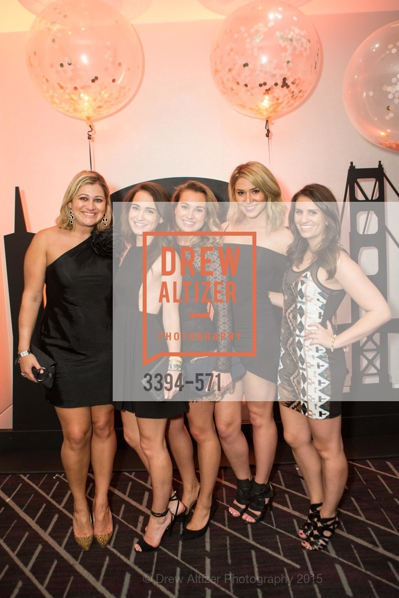 Caroline Hurley, Lea Engelhardt, Nicole Engelhardt, Christina Graham, Gina Cesare, The 10th Annual San Francisco Social, W Hotel. 181 3rd St, November 21st, 2015,Drew Altizer, Drew Altizer Photography, full-service agency, private events, San Francisco photographer, photographer california