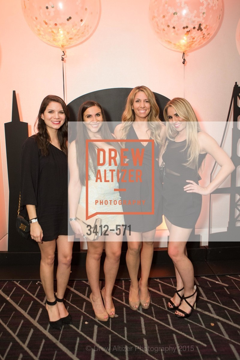 Karen Toro, Michelle Baker, Danielle Hake, Alexis Schroeder, The 10th Annual San Francisco Social, W Hotel. 181 3rd St, November 21st, 2015,Drew Altizer, Drew Altizer Photography, full-service agency, private events, San Francisco photographer, photographer california