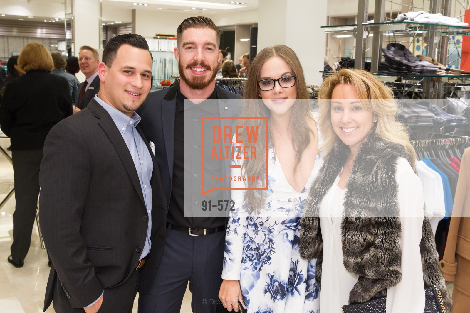 Nathan Boyce, Sean Christie, Dena Waterman, Melissa Kress, Neiman Marcus Walnut Creek welcomes neighbors ROOFTOP and Teleferic Barcelona, Neiman Marcus. 1000 South Main Street, November 20th, 2015,Drew Altizer, Drew Altizer Photography, full-service agency, private events, San Francisco photographer, photographer california