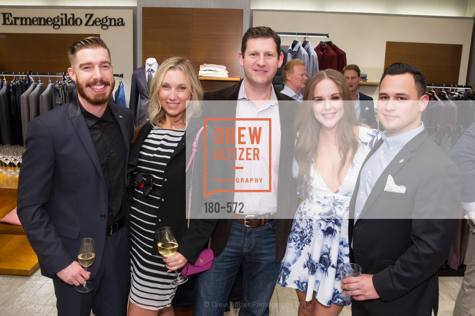 Sean Christie, Nicole Maines, Peter Maines, Dena Waterman, Nathan Boyce, Neiman Marcus Walnut Creek welcomes neighbors ROOFTOP and Teleferic Barcelona, Neiman Marcus. 1000 South Main Street, November 20th, 2015
