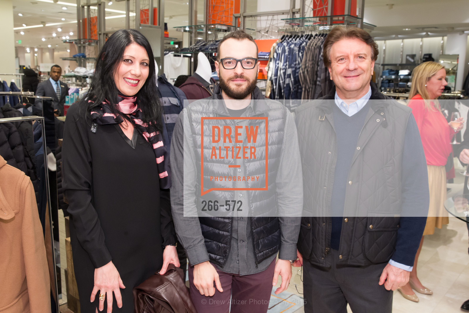 Marina Manny, Roberto Federatti, Giovanni Manny, Neiman Marcus Walnut Creek welcomes neighbors ROOFTOP and Teleferic Barcelona, Neiman Marcus. 1000 South Main Street, November 20th, 2015,Drew Altizer, Drew Altizer Photography, full-service agency, private events, San Francisco photographer, photographer california