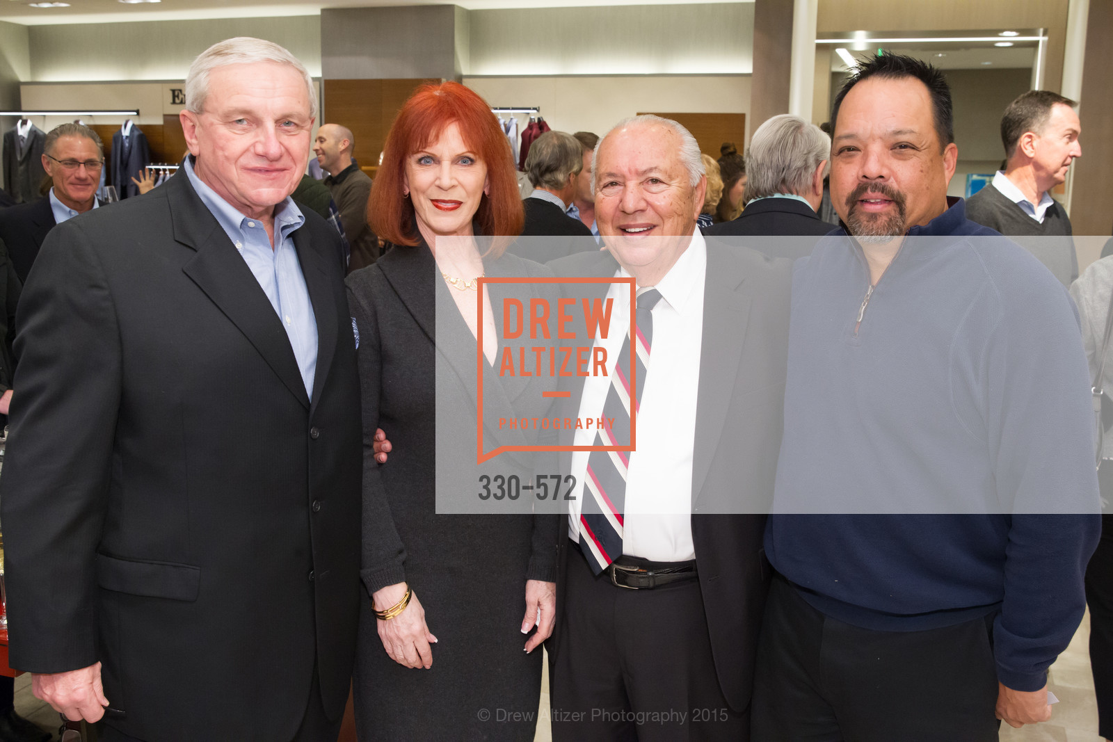 Don Kowalski, Sherry Reid, Rocky Dudum, Perry Tong, Neiman Marcus Walnut Creek welcomes neighbors ROOFTOP and Teleferic Barcelona, Neiman Marcus. 1000 South Main Street, November 20th, 2015,Drew Altizer, Drew Altizer Photography, full-service agency, private events, San Francisco photographer, photographer california