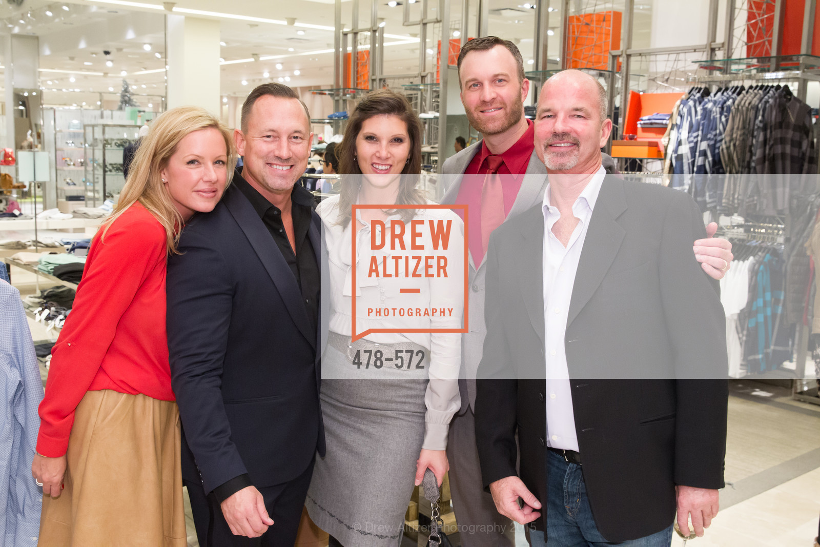 Cynthia Warner, Jim Telford, Jennifer Franklin, Scott Slocum, Dewayne Sherrill, Neiman Marcus Walnut Creek welcomes neighbors ROOFTOP and Teleferic Barcelona, Neiman Marcus. 1000 South Main Street, November 20th, 2015,Drew Altizer, Drew Altizer Photography, full-service agency, private events, San Francisco photographer, photographer california