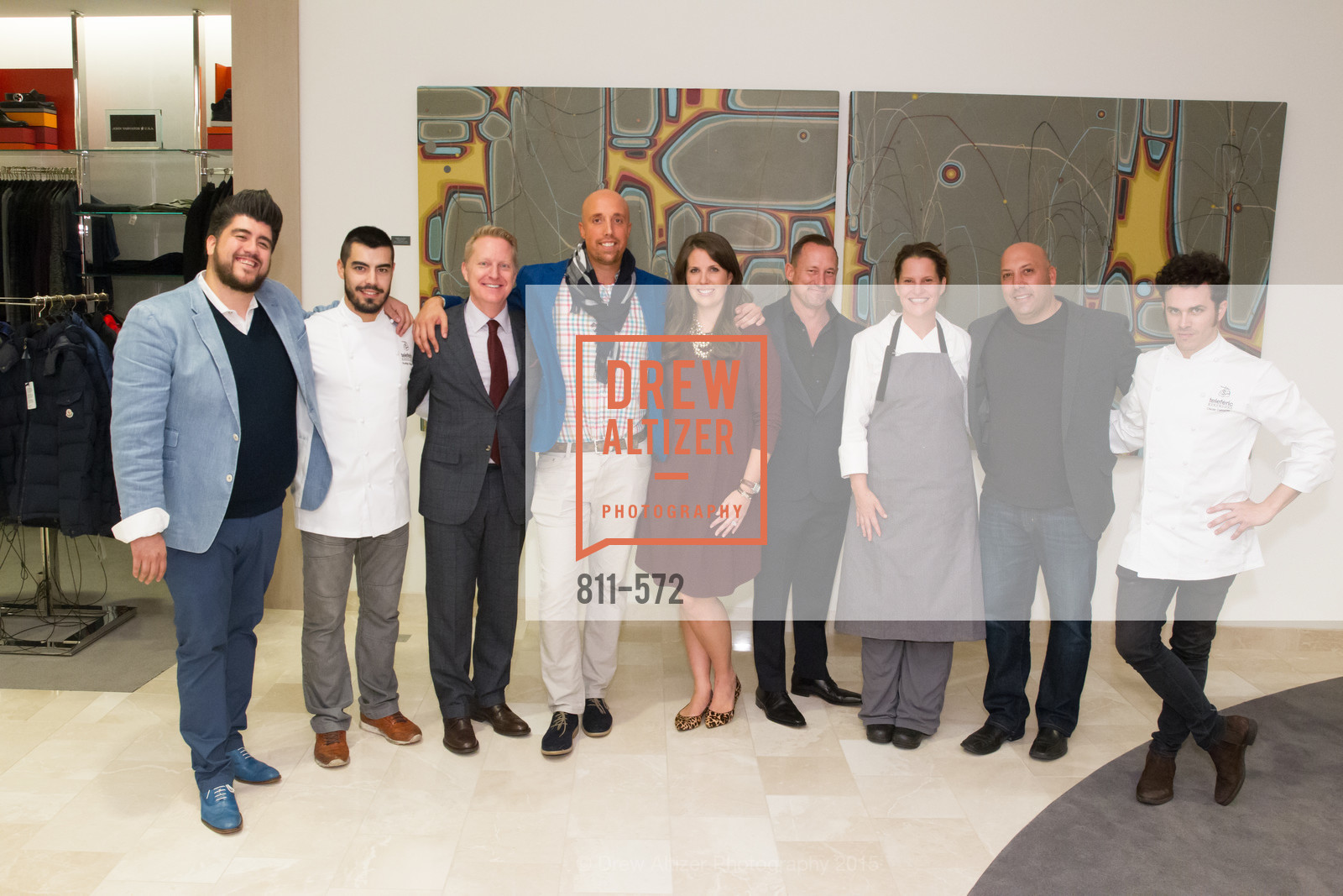 Paul Iglesias, Rodrigo Vasquez, Jamie Broadhurst, Xavi Padrosa, Meghan Murray, Jim Telford, Justine Kelly, Jeff Dudum, Oscar Cabezas, Neiman Marcus Walnut Creek welcomes neighbors ROOFTOP and Teleferic Barcelona, Neiman Marcus. 1000 South Main Street, November 20th, 2015