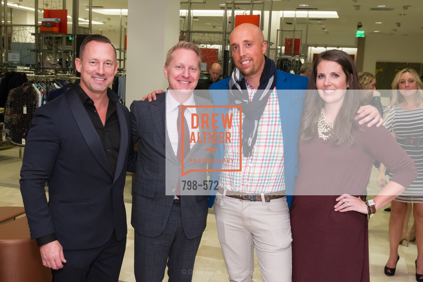 Jim Telford, Jamie Broadhurst, Xavi Padrosa, Meghan Murray, Neiman Marcus Walnut Creek welcomes neighbors ROOFTOP and Teleferic Barcelona, Neiman Marcus. 1000 South Main Street, November 20th, 2015,Drew Altizer, Drew Altizer Photography, full-service agency, private events, San Francisco photographer, photographer california